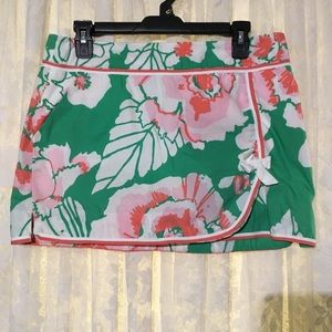 Lily Pulitzer Floral Print Skirt